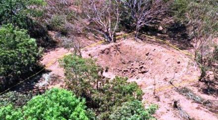 Kawah diduga bekas tubrukan meteorit di Nikaragua (IBN Live)