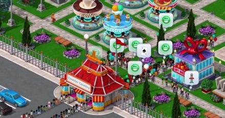 Game RollerCoaster Tycoon 4 untuk android